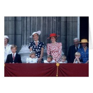 No.27 príncipe Guillermo Trooping 1986 Tarjeta De Felicitación