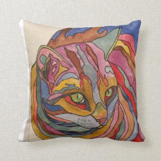 No. 2 de la almohada del diseño del gato del arco