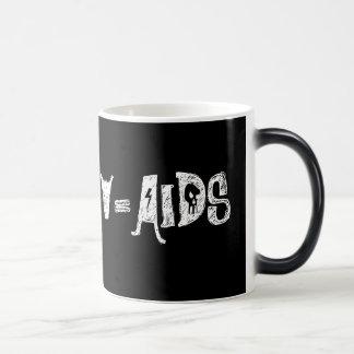 NO 2+HIV=AIDS MUG