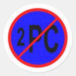 NO_2_PC PEGATINA REDONDA