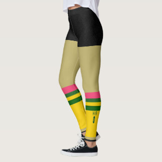 No.2 Pencil Knee High Sock Leggings - Teacher Gift