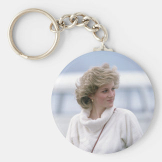 No.31 Princess Diana arrives at Zurich Airport in Keychains