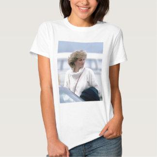 No.31 Princess Diana arrives at Zurich Airport in Tee Shirt