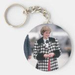 No.32 la princesa Diana llega por un día de fiesta Llaveros Personalizados
