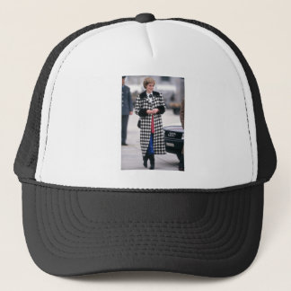 No.32 Princess Diana arrives for a skiing holiday Trucker Hat