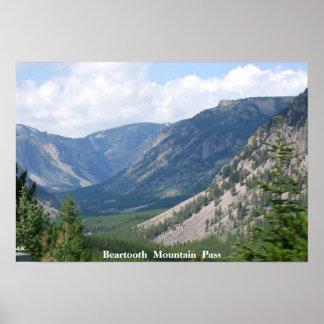 No 33 - DSC, H-27 - Beartooth Mountain Pass,Alpine Poster