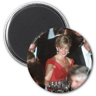 No.35 Princess Diana Washington DC 1990 2 Inch Round Magnet