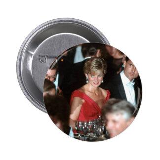 No.35 Princess Diana Washington DC 1990 Pinback Button