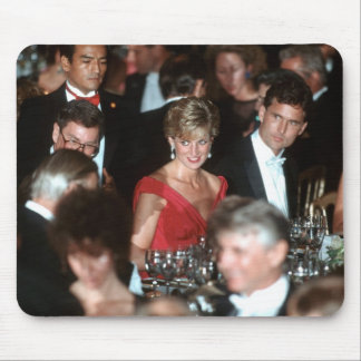 No.35 Washington DC 1990 de la princesa Diana Alfombrillas De Raton