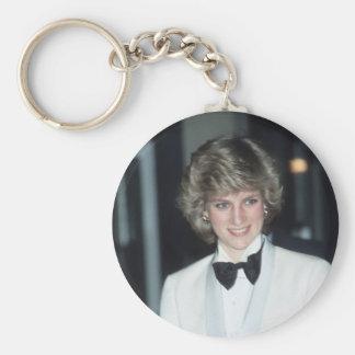 No.36 Princess Diana, Birmingham 1984 Basic Round Button Keychain