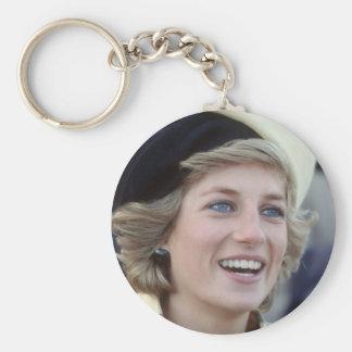 No.37 princesa Diana Southampton 1984 Llavero Redondo Tipo Pin