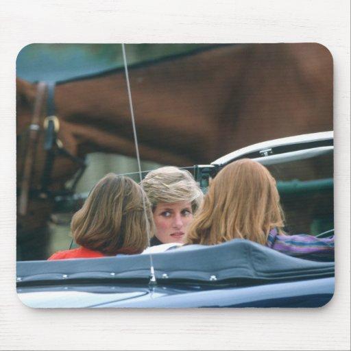No.38 Princess Diana polo 1986 Mouse Pad