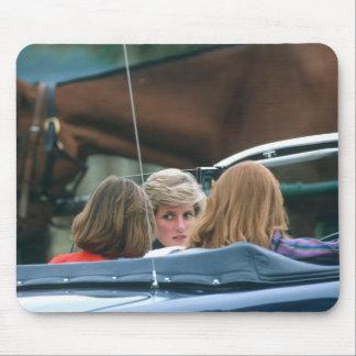 No.38 Princess Diana polo 1986 Mousemat