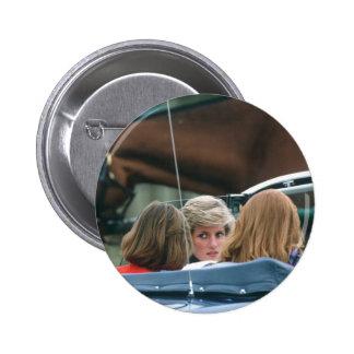 No.38 Princess Diana polo 1986 Pinback Button
