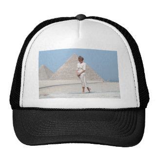 No.39 Princess Diana Egypt Trucker Hat