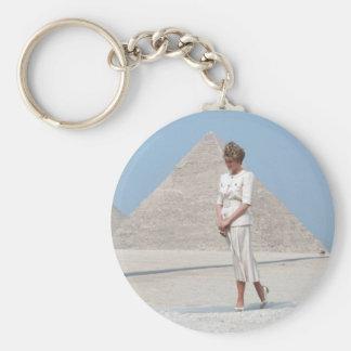 No.39 Princess Diana Egypt Keychain