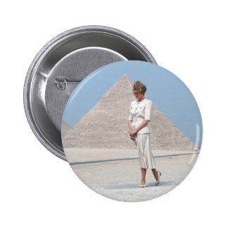 No.39 Princess Diana Egypt Pinback Button