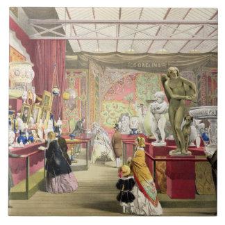 """No. 3 de Francia, de """"Pict completo de Dickinson Azulejo Cuadrado Grande"""