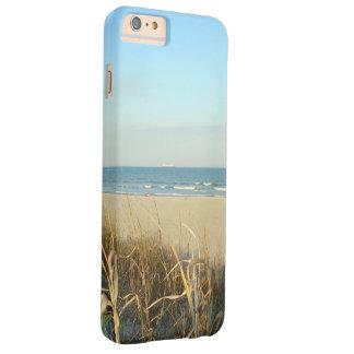No. 3 de la escena de la playa de la primavera funda barely there iPhone 6 plus