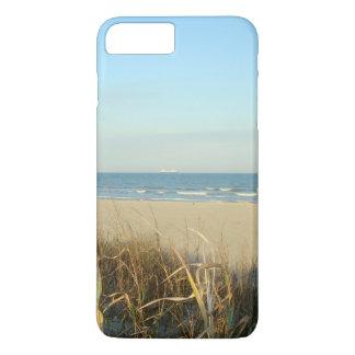 No. 3 de la escena de la playa de la primavera funda iPhone 7 plus