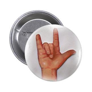 NO. 3 DEL ASL TE AMO PIN