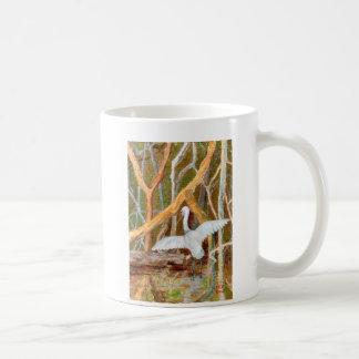 No. 3 del Egret del mangle Taza