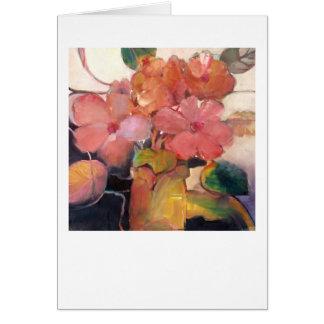 No. 3 del florero • Michelle Abrams - tarjeta