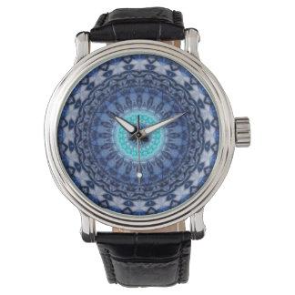 No. 3 del iceblue de la mandala creado por Tutti Relojes De Mano