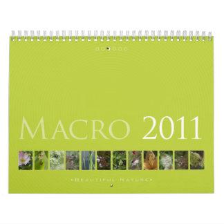 (no. 3) Macro 2011: Beautiful  Nature - Calendar
