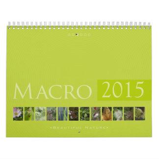 (no. 3) Macro 2015: Beautiful  Nature - Calendar