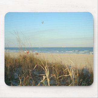 No. 3 Mousepad de la escena de la playa de la prim Tapetes De Ratones