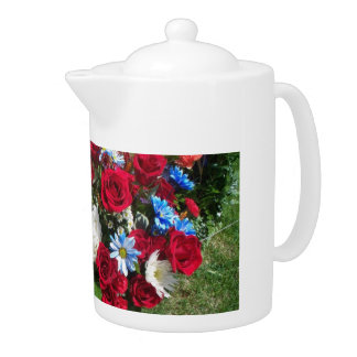 No 401 Teapot Flowers Montana