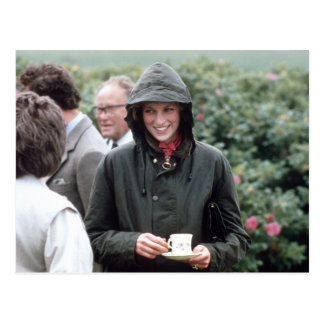 No.40 princesa Diana Lochmaddy 1985 Tarjeta Postal