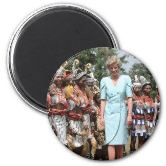 No.41 Princess Diana Cameroon 1990 Fridge Magnets
