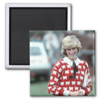 No.42 Princess Diana polo 1983 Magnet