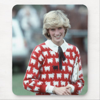 No.42 Princess Diana polo 1983 Mouse Pad
