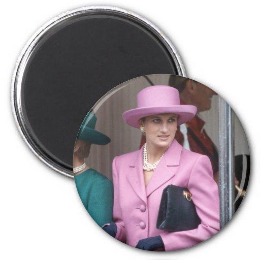 No.43 Princess Diana, Windsor Castle 1993 Refrigerator Magnet
