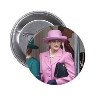 No.43 Princess Diana, Windsor Castle 1993 Pinback Button
