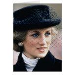 No.44 princesa Diana Francia 1988 Tarjeta De Felicitación