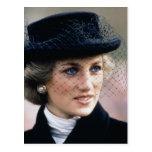 No.44 princesa Diana Francia 1988 Tarjeta Postal