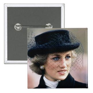 No.44 Princess Diana France 1988 Button