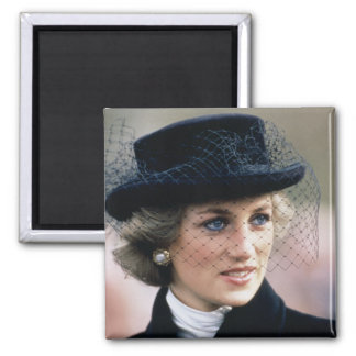 No.44 Princess Diana France 1988 Magnet