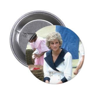 No.45 princesa Diana Australia 1988 Pin Redondo 5 Cm