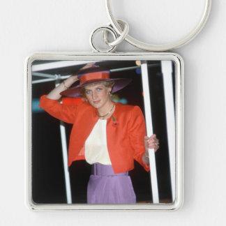 No.46 princesa Diana Hong Kong 1989 Llaveros Personalizados