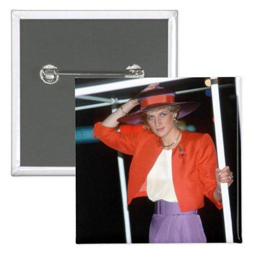 No.46 princesa Diana Hong Kong 1989 Pin