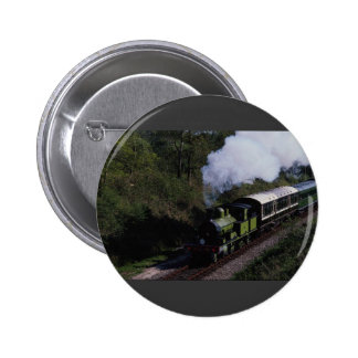 No. 488 Adams Class at Horsted Keynes Pinback Buttons
