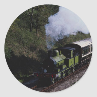 No. 488 Adams Class at Horsted Keynes Round Sticker