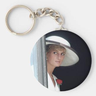 No.48 princesa Diana, Winchester, Inglaterra 19 Llavero Redondo Tipo Pin