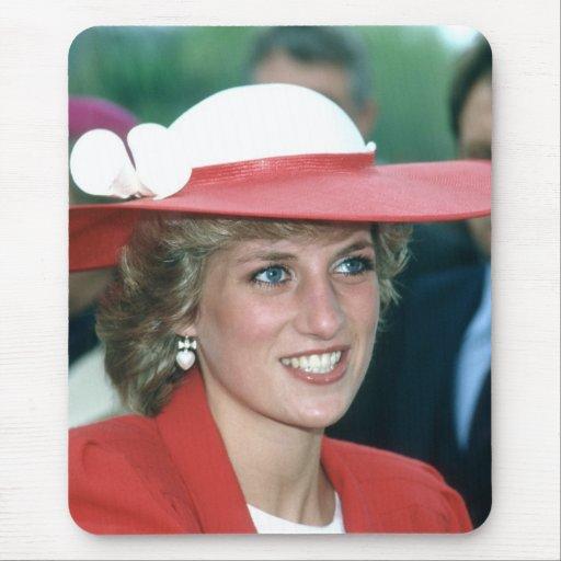 No.49 princesa Diana Sunderland 1985 Tapete De Raton