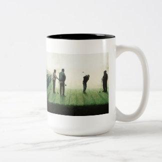 No.4 'Autumn morning' by Ron McGill Two-Tone Coffee Mug